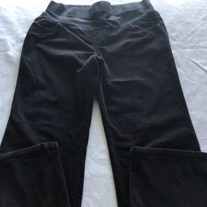 TWO HEARTS MATERNITY BLACK PANTS